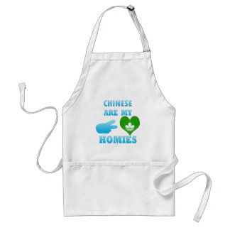 Chineses are my Homies Adult Apron