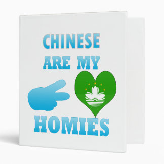 Chineses are my Homies Binder