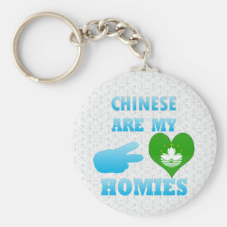 Chineses are my Homies Key Chains