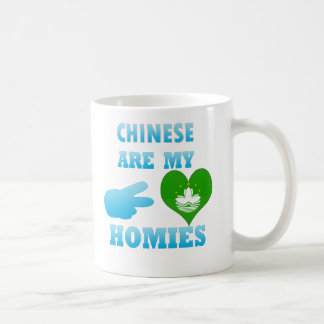 Chineses are my Homies Mugs