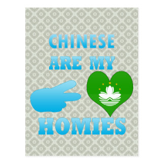 Chineses are my Homies Post Cards