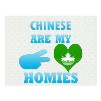 Chineses are my Homies Postcard