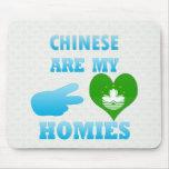 Chineses es mi Homies Tapetes De Ratones