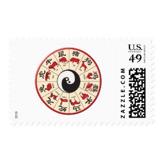 ChineseZodiac Postage Stamp