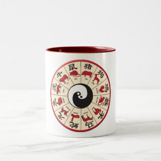 ChineseZodiac Two-Tone Coffee Mug