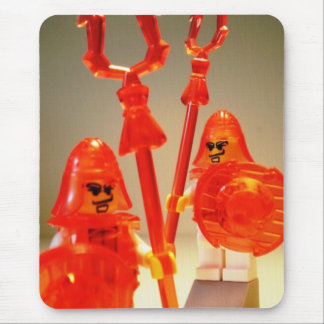Ching Dynasty Chinese Warrior Custom Minifigure Mouse Pad