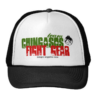 CHINGASOS, fight gear, sangre-orgullo- Trucker Hat