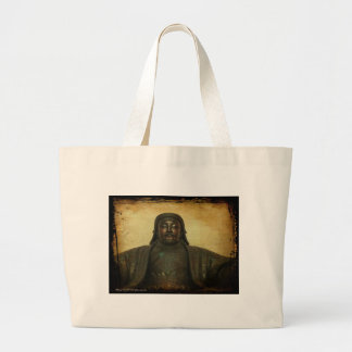 Chinggis Khan Large Tote Bag