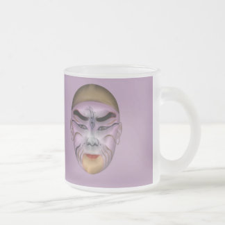 Chinise Transformation 1 10 Oz Frosted Glass Coffee Mug