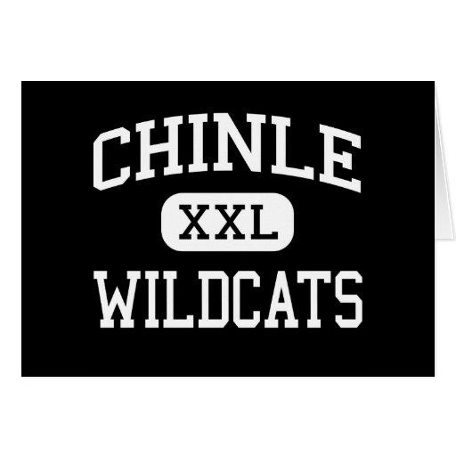 Chinle - Wildcats - High School - Chinle Arizona Greeting Card