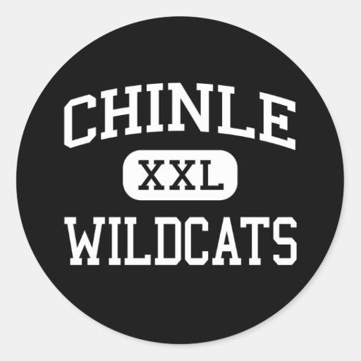 Chinle - Wildcats - High School - Chinle Arizona Round Sticker