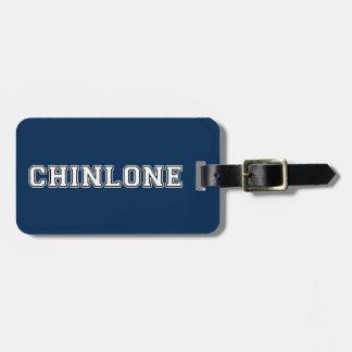 Chinlone Luggage Tag