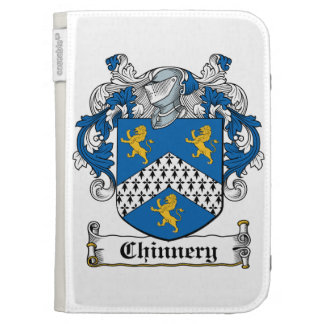Chinnery Family Crest Kindle Cases