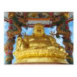 Chino Buda Tarjeta Postal