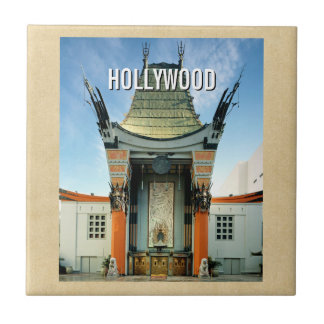 Chino de Hollywood Boulevard Grauman Azulejo Ceramica