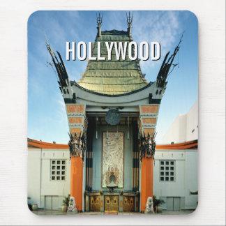 Chino de Hollywood Boulevard Grauman Tapete De Ratones