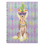 Chino del carnaval Crested Note Book