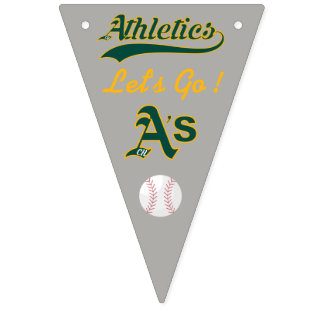 Chino Hills AA A's Bunting Flags