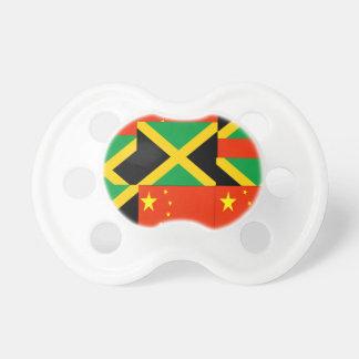 Chino-Jamaicano Chupetes Para Bebes