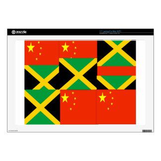 Chino-Jamaicano Portátil Calcomanía