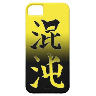 Chino japonés fresco de Konton del símbolo de Funda Para iPhone SE/5/5s