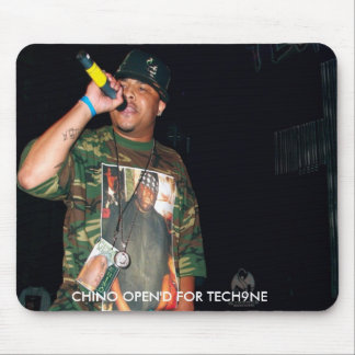 CHINO OPEN'D FOR TECH9NE MOUSE PAD