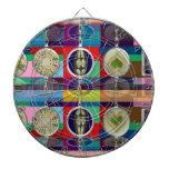 Chino oriental: Pequeñas decoraciones de los CORAZ Tablero De Dardos