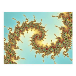 Chino - postal del fractal