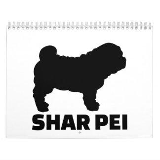 Chino Shar Pei Calendarios De Pared