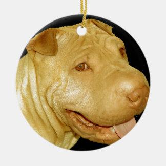 Chino Shar-Pei Ornaments Para Arbol De Navidad