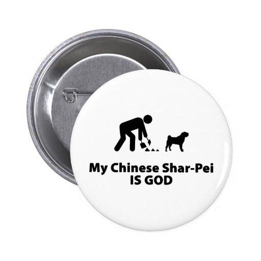 Chino Shar-Pei Pins