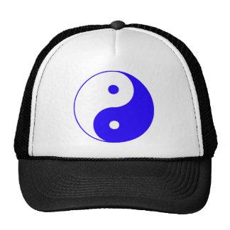Chino Taijitu de la muestra del Taoism de Yin Yang Gorro De Camionero