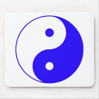 Chino Taijitu de la muestra del Taoism de Yin Yang Alfombrilla De Raton