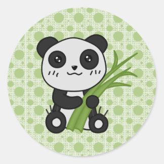 Chino The Panda Classic Round Sticker