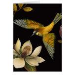 Chinoiserie Birds II - Greeting Card
