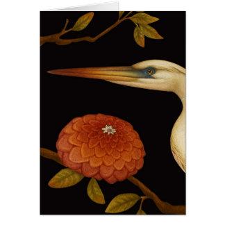 Chinoiserie Birds III - Greeting Card
