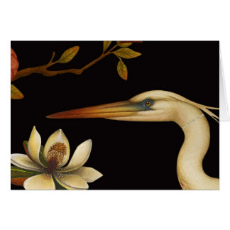 Chinoiserie Birds V - Greeting Card