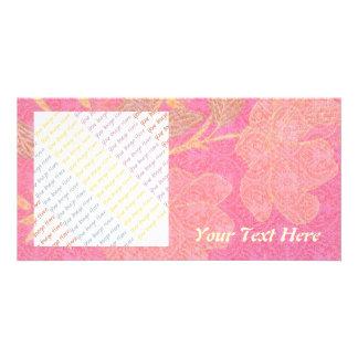 Chinoiserie custom photo greeting card