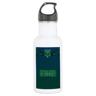Chinoiserie Dragon Stainless Steel Water Bottle