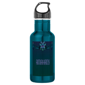 Chinoiserie Goat Stainless Steel Water Bottle
