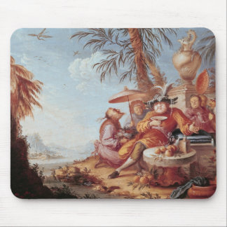 Chinoiserie Mouse Pad