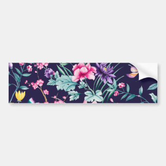 CHINOISERIE - NAVY BASE BUMPER STICKER
