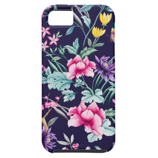 CHINOISERIE - NAVY BASE iPhone SE/5/5s CASE