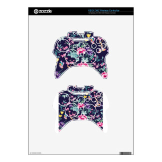 CHINOISERIE - NAVY BASE XBOX 360 CONTROLLER SKIN