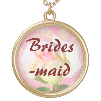 Chinoiserie WEDDING Bridesmaid Necklace
