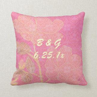 Chinoiserie WEDDING Gift Throw Pillow