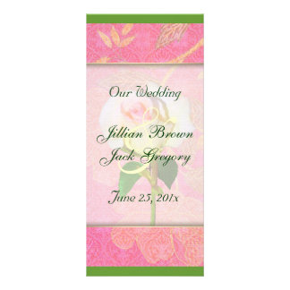 Chinoiserie WEDDING Program