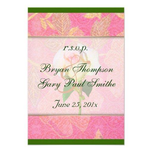 Chinoiserie Wedding RSVP Invite