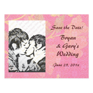 Chinoiserie WEDDING Save-the-Date Postcard