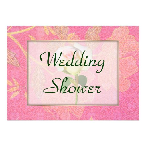 Chinoiserie WEDDING Shower Personalized Invites